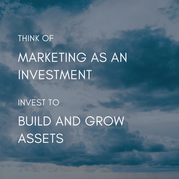 marketing as an investment